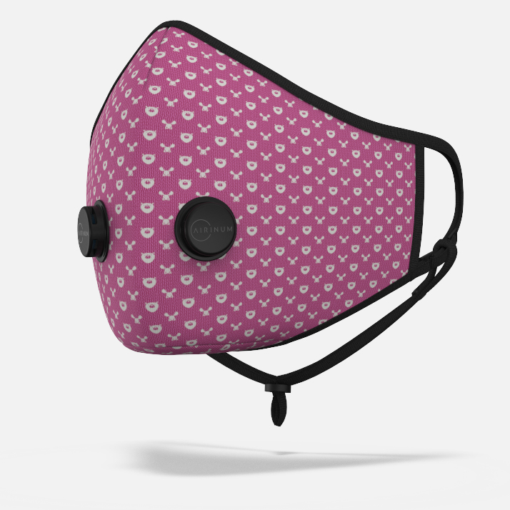 Urban Breathing Mask - Wildlife Pink