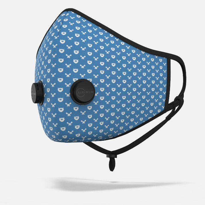 Urban Breathing Mask - Wildlife Blue