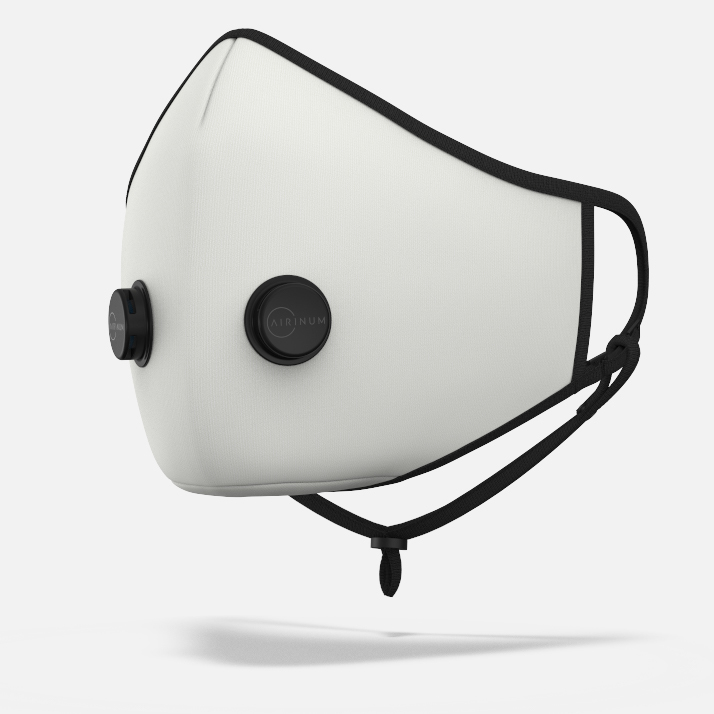 Urban Breathing Mask - Solid White