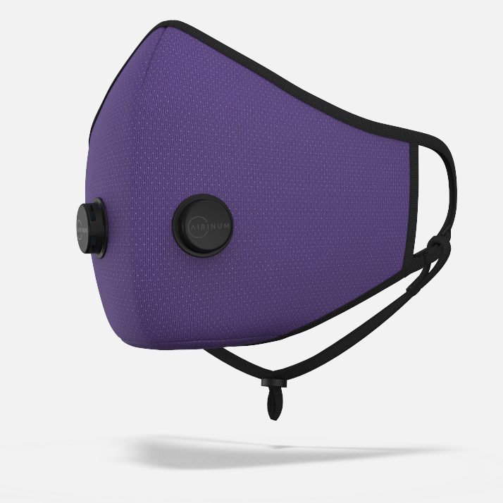 Urban Breathing Mask - Dots Purple
