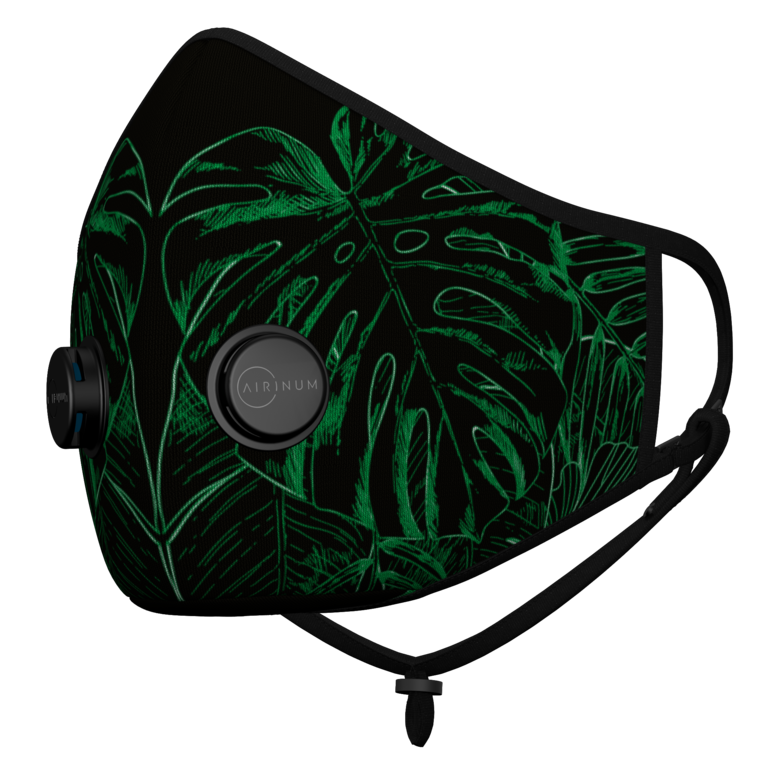 Urban Breathing Mask - O2 Green